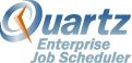 Powered by Quartz Enterprise Scheduler logo
